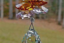 Sun Catchers & beaded hangers / by Diane Hartfiel
