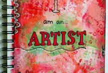 Art Journaling / by Scrapper's Edge
