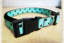 Pet Crafts: Collars, Leashes, Tags, Clothing & Accessories for dogs & cats / DIY - collars, leashes, poop bag holders, collar bling, ID tags and more. Almost Home Foundation - make and donate / by Face