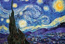 Artiste / Vincent van Gogh / Histoire des Arts : XIXème  siècle / (1853/Pays-Bas - 1890 /France) est un peintre et dessinateur néerlandais.  / by Valérie WINTZ