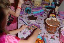 Rileys slumber party! 5th bday! / by Brooke Keziah