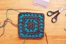 Crochet Afghan/Motif Squares / by Beverly Clark