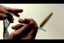 Jewelry--Wire & Fiber Crocheted--Bracelets / by Patricia Hedrick