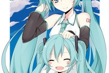 Vocaloid / For my Miku obsession~ / by Jenny Taylor