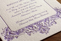 {invitation design} baroque / by Invitations by Ajalon