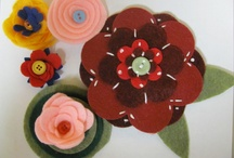 Felt Flowers / Young Adult Library program  / by Tipp City Public Library Ohio