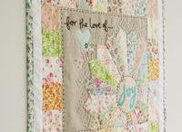 Quilts I Want to Make / Quilts I see that make my want to sew them  / by Tina D.