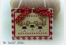 Cross Stitch - Christmas / by Ana McCool