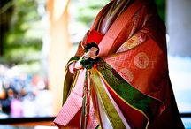 kimono, yukata, hakama, keikogi, haori and co... / by goguette