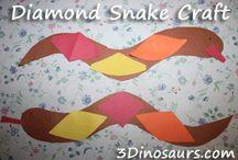 Desert Activities For Kids / by Cassie Osborne (3Dinosaurs.com)