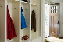 H / MUDRM, LAUNDRY / Laundry & Mudroom Layout, Design and Color Scheme  / by Camille Winona