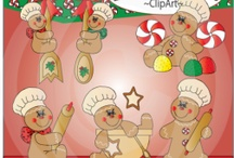GINGERBREAD LOVE / CUTE GINGERBREAD...SO ADORABLE!!! / by Donna Siegrist
