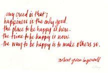 Words / by Alexa Allison