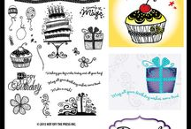 Digital Scrapbooking, Digital Stamps & Digital Cutting Files / by Paper Wishes