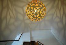 DIY light π / See also home decor / by Pii Topio