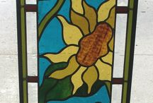 stained, fused, mosaic glass / by Stacey Waldfogel