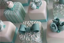 Cakes - Petit Fours / by Melissa {Taylor-made Cakes}