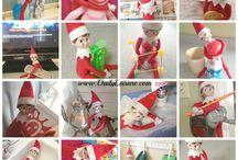Elf on Te shelf / by Destiny new