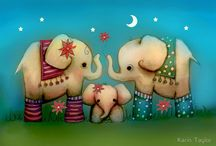 I Love Elephants / by Caro Leona
