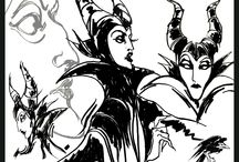 Maleficent / Maleficent starring Angelina Jolie premieres this Summer and with it brings a dark dramatic style that will inspire anyone's dark side!  / by Graham & Brown