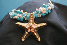 Blue Jewelry / Handmade Jewelry in Blue / by Marla Bee Designs