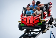 Pink-Knuckle Rides / LEGOLAND Florida features four roller coasters, each with its own level of thrill, but all of them suitable for those who might enjoy a 'Pink-Knuckle' experience or who could be riding a coaster for their first time. / by LEGOLAND Florida