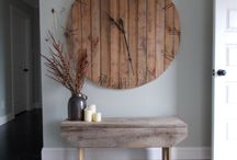 CLOCKS AS ART / decorating with clocks as art pieces / by Mr. Kate