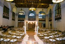 The Majestic Downtown L.A. / The Majestic Downtown is one of the most unique urban wedding venues in LA. It has a renovated bank vault which is so cool. / by Chris Schmitt Photography