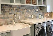 Interiors ❉ Laundry / Laundry room design / by Jackie Jordan