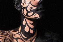 face & body paint / by Yvonne van der Burgt