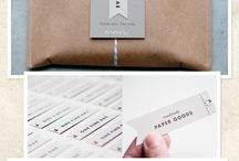 wrapping and packaging  / by Laura Sterling