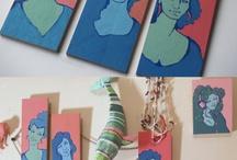 My Paintings / by Cari Rakai