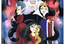 Disney's Villains    / by Brad Nash