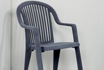 Grey Chairs, Benches, Stools, Sofas (Seating Furniture) / Not many, but they can bring some rest in your room those grey, or is it gray chairs? / by Chair Blog