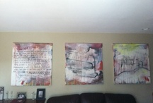 /i have one! / photos of kent youngstrom paintings in their final resting place. / by Kent Youngstrom