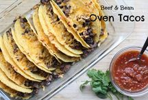 Tacos, Burritos, Enchiladas - all things Mexican Food / Join me in my love for all Mexican food from gourmet to Tex-Mex to true authentic south of the border tastes!  Find all my recipes at 5DollarDinners.com! / by $5 Dinners {Erin Chase}