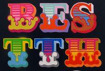 Ben Eine by Hookedblog / A collection of images featuring the work of artist Ben Eine. / by Hookedblog Street Art