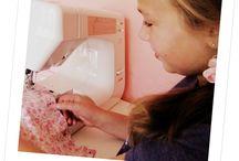 teach kids to sew / by Lisa Kisch