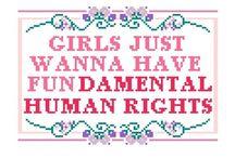 Pro-Women. All women. / by Hannah Hendrix Cherry