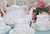 fine china and antique trinkets / by Pam Somogyi