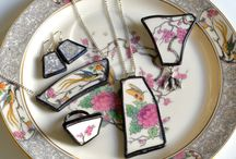 Broken china jewelry  / by Lynne Howard