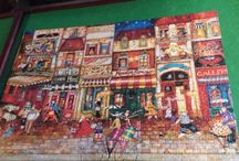 jigsaw puzzles completed / by Maureen Rekrut