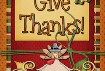 Thanksgiving Ideas / by Cindy Fredrickson