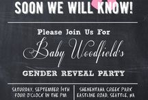 baby shower/gender reveal party <3 / by Shea Newman