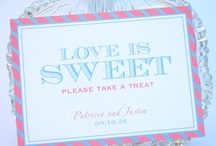 Wedding Signage / by Whimsy B. Designs
