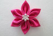 WHOLESALE Kanzashi Flowers / by Cheryl Dumlao
