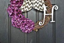 Wreaths/decoration / by Kaylann Rebecca