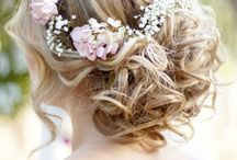 Wedding Hair Inspiration / by Rebecca Yeates