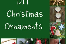 Christmas ornaments and crafts / by Debra Flood