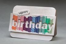 Washi tape cards / by Elena Williams